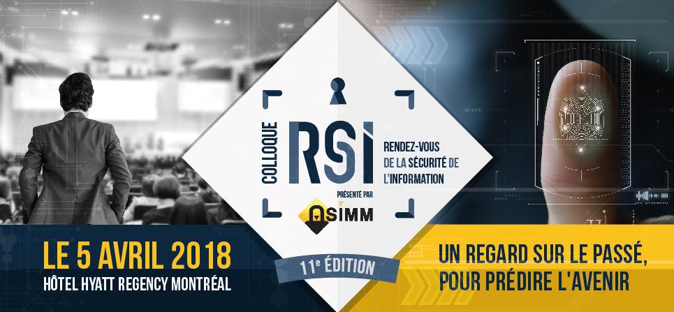 Colloque RSI - ASIMM - evenement securite de l'information montreal